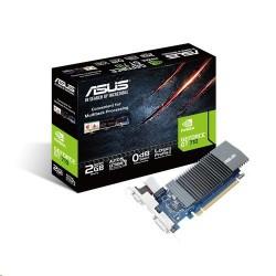 ASUS GeForce GT710-SL-2GD5 2GB/64-bit, GDDR5, D-Sub, DVI, HDMI, LP 90YV0AL1-M0NA00