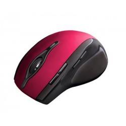 C-Tech myš WLM-11 čierno-červená, bezdrôtová, programovateľná.USB. Nano receiver. Wireless WLM-11R