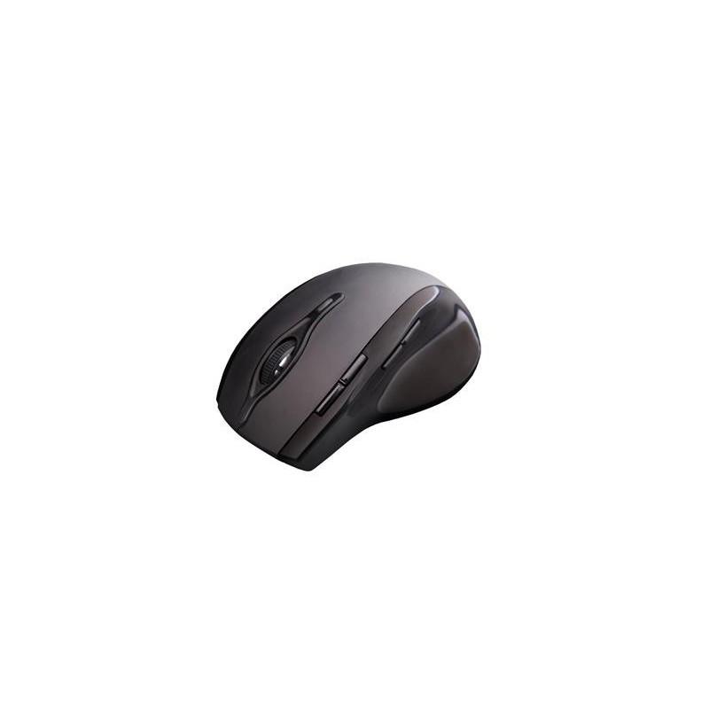 C-Tech myš WLM-11 čierna, bezdrôtová, programovateľná.USB. Nano receiver. Wireless WLM-11BK