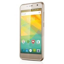 "Prestigio Multiphone Muze B3 5"" 1280x720 IPS 1/8GB 1.3GHz 2000mAh CAM 2/8Mpx Android 6.0 DUAL SIM ZLATY PSP3512DUOGOLD"