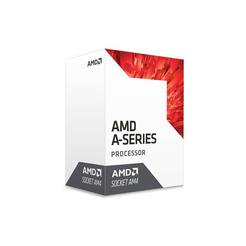 AMD, A8-9600 Processor BOX, soc. AM4, 65W, Radeon R7 Series AD9600AGABBOX
