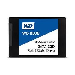 "WD Blue 250GB SSD SATA3, 2,5"" (7 mm) ( r550MB/s, w525MB/s ) WDS250G2B0A"