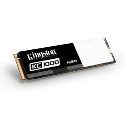 Kingston 480GB KC1000 SSD PCIe Gen3 x4 NVMe M.2 2280 ( r2700MB/s, w1600MB/s ) SKC1000/480G