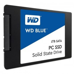"WD Blue 1TB SSD SATA3, 2,5"" (7 mm) ( r545MB/s, w525MB/s ) WDS100T2B0A"