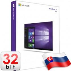 MS WINDOWS 10 Pro SK 32-bit OEM FQC-08951