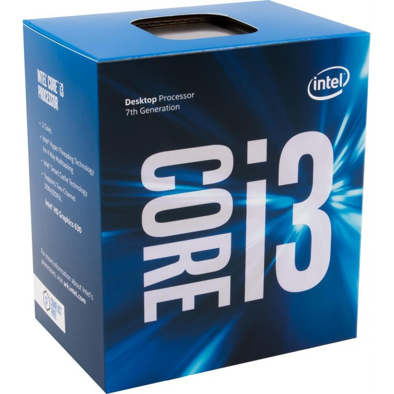 Intel Core i3-7100, Dual Core, 3.90GHz, 3MB, LGA1151, 14nm, 51W, VGA, BOX BX80677I37100