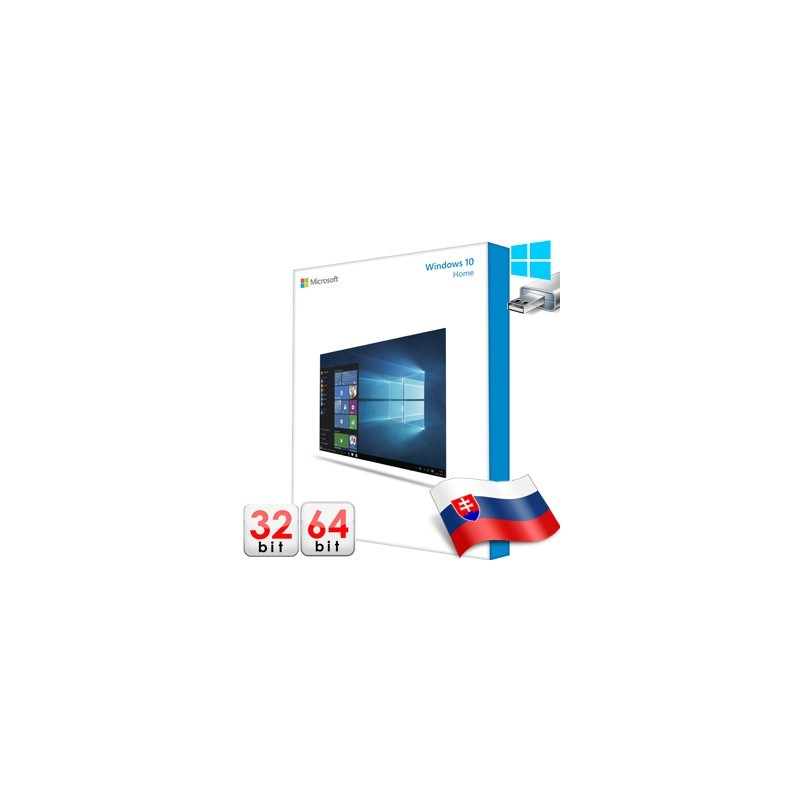 MS WINDOWS 10 SK 32/64 bit USB KW9-00257