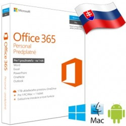 MS Office 365 Personal SK 1rok ML QQ2-00082