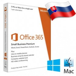 MS Office 365 Business Premium SK 1rok 9F4-00003