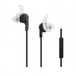 bezdrôtové stereo slúchadlá (slúchadlá), bluetooth, 1,2m, čierny 50820