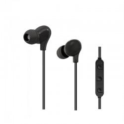 bezdrôtové stereo slúchadlá (slúchadlá), bluetooth, 1,2m, čierny 50821