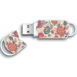INTEGRAL Xpression Floral 8GB USB 2.0 flashdisk INFD8GBXPRFLORAL