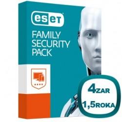 ESET Family Pack 4 Zariadenia 2016 8588005558815