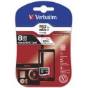 Verbatim 8GB Micro SD (HC) CLASS 10 44012