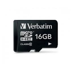 Verbatim 16GB Micro SD (HC) Class 10 44010