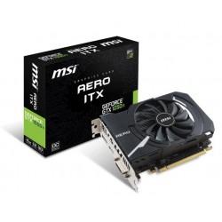 MSI GeForce GTX 1050 Ti AERO ITX 4G OC, 4gb, DisplayPort, HDMI, DL-DVI-D
