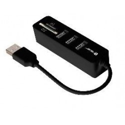 Tracer CH4 čítačka kariet All-In-One + HUB USB 2.0 (3 porty),...