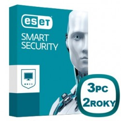 ESET Smart Security 10 3 PC na 2 roky 8588006503401