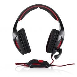 Modecom slúchadlá s mikrofónom MC-830 PATRIOT, uzavretá (čierne) S-MC-830-PATRIOT