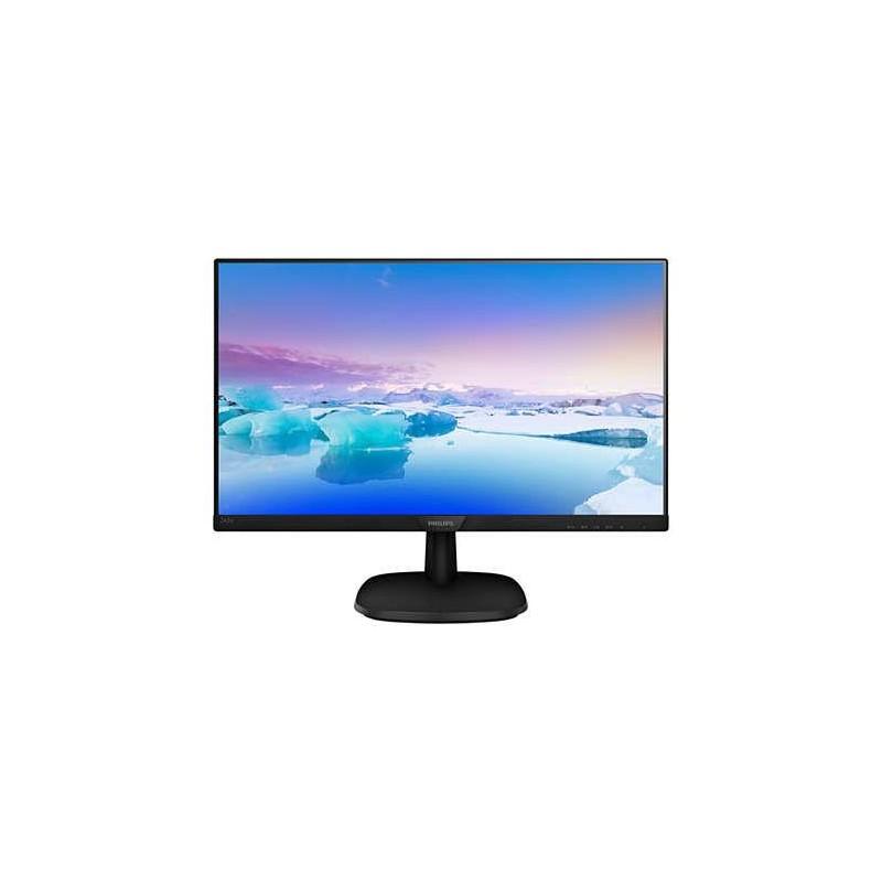 Monitor Philips 243V7QSB/00 24', panel-IPS; FullHD; D-Sub, DVI