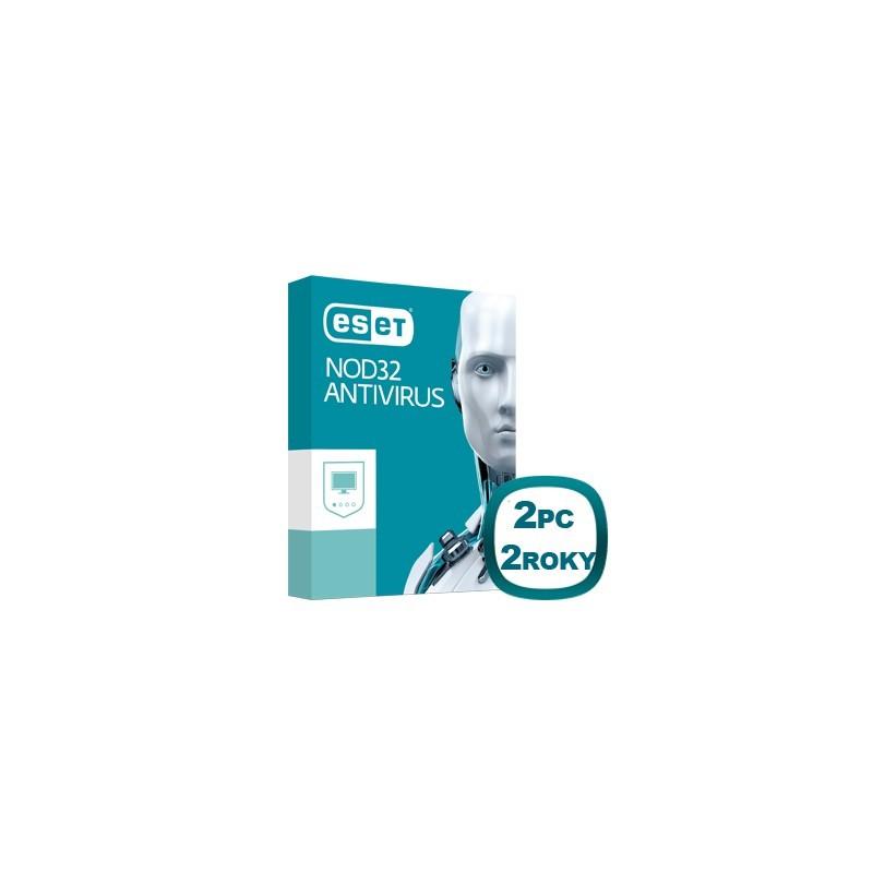 ESET NOD32 Antivírus 10 2PC na 2 roky 8588006503463