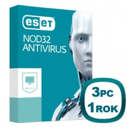 ESET NOD32 Antivírus 10 3PC na 1 rok 8588006503470