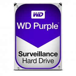 Internal HDD WD Purple 3.5' 2TB SATA3 64MB WD20PURZ