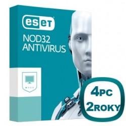 ESET NOD32 Antivírus 10 4PC na 2 roky 8588006503500