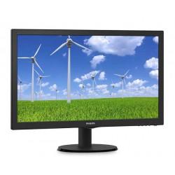 Monitor Philips 243S5LSB5/00, 24inch, TN, Full HD, DVI, D-Sub