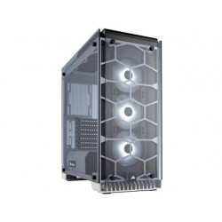 PC case Corsair Crystal Series 570X RGB ATX Mid-Tower, Tempered Glass, White CC-9011110-WW