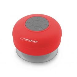 ESPERANZA EP124R Vodoodolný Bluetooth reproduktor - SPRINKLE EP124R - 5901299927731