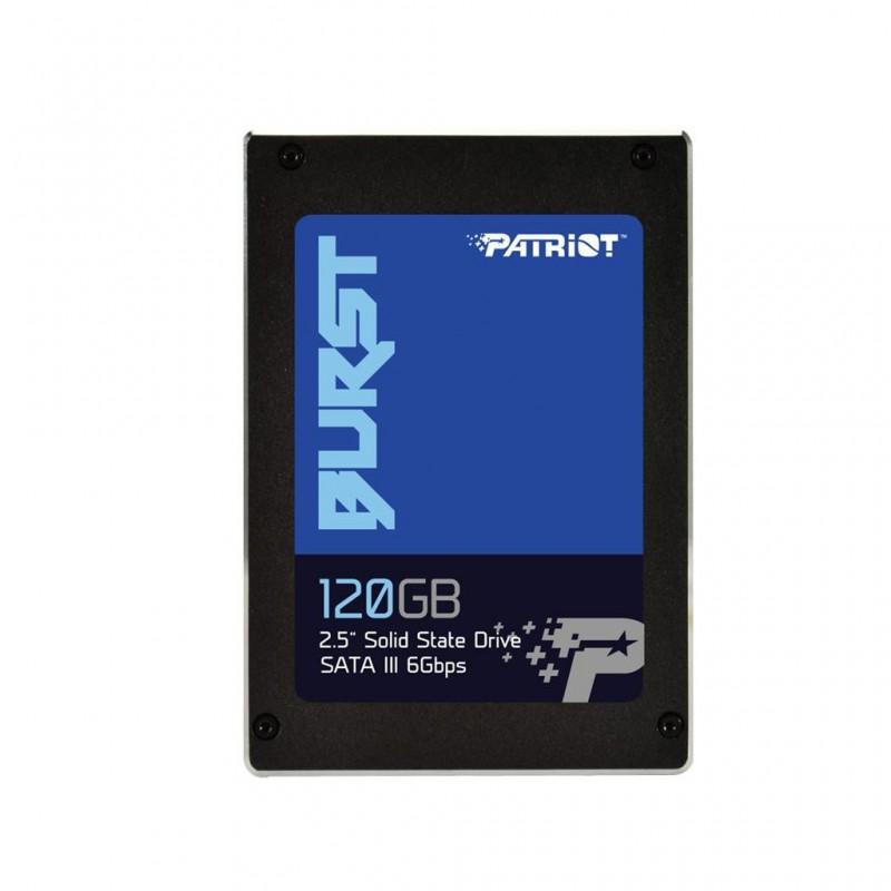 Patriot SSD Burst 120GB 2.5' SATA III R:560MB/s W:540MB/s PBU120GS25SSDR