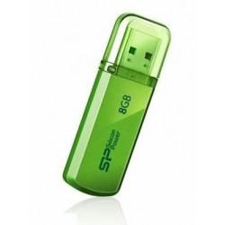 Silicon Power memory USB Helios 101 8GB USB 2.0 Green SP008GBUF2101V1N