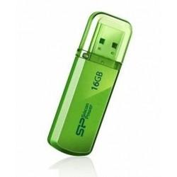 Silicon Power memory USB Helios 101 16GB USB 2.0 Green SP016GBUF2101V1N