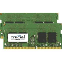 Crucial 2x4GB DDR4 SODIMM 2400MHz CL17 1.2V CT2K4G4SFS624A