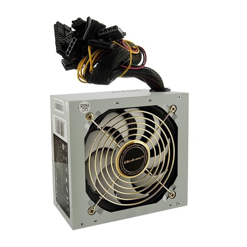 Qoltec ATX Power Supply Wind 525W 80+ BULK 50148