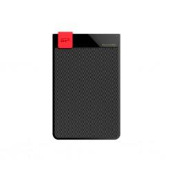 External HDD Silicon Power Diamond D30 2TB USB 3.0, ultra-slim 7mm, IPX4, Black SP020TBPHDD3SS3K