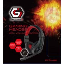 Gembird Gaming slúchadlá s mikrofónom a reguláciou hlasitosti GHS-01