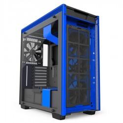 NZXT computer case H700i Matte Black/Blue CA-H700W-BL