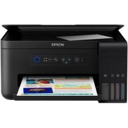 """MFP """"TANK"""" ITS farebné atramentové EPSON L4150, A4, USB, WiFi/Direct, iPrint, bezokrajová tlač fotografií C11CG25401"""