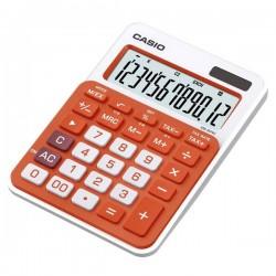Kalkulačky, Databanky Kalkulačka Casio, MS 20 NC, oranžová, stolná, dvanásťmiestna MS 20 NC RG