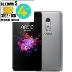 TP-Link NEFFOS X1 LITE 2G/16GB DUAL Sim Clou Grey TP904A24EU