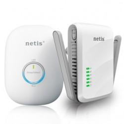 NETIS PL7622KIT Powerline Ethernet adaptér 300Mb/s