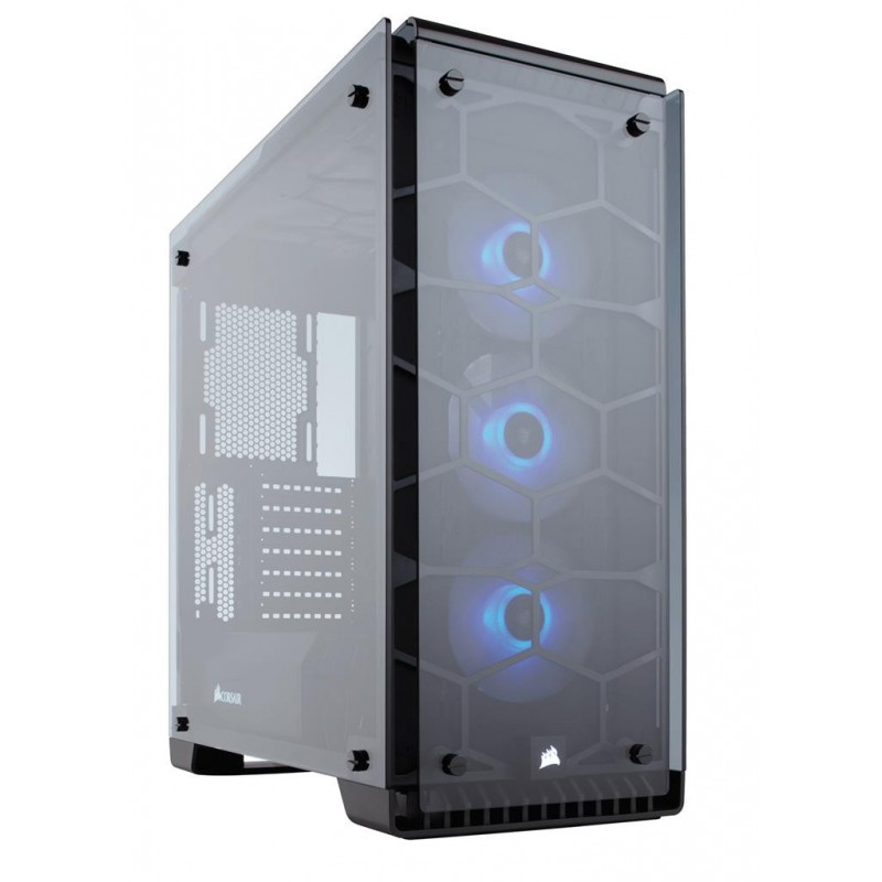 Corsair case Crystal Series 570X RGB Tempered Glass, Premium ATX Mid-Tower CC-9011098-WW