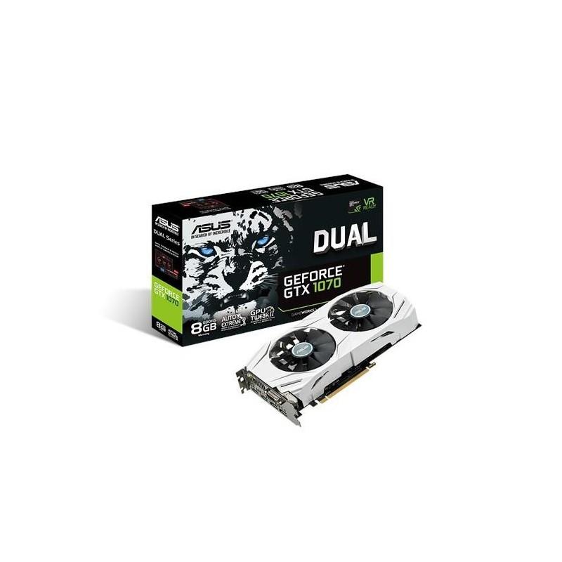 ASUS Dual GeForce GTX 1070, 8GB GDDR5, PCI Express 3.0 DUAL-GTX1070-8G