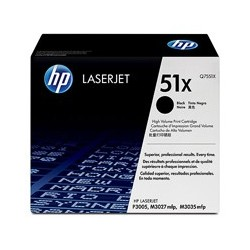HP Toner Q7551X black No.51A