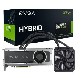 EVGA GeForce GTX 1070 GAMING, 8GB GDDR5, HYBRID & LED 08G-P4-6178-KR