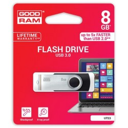 8 GB USB kľúč GOODDRIVE Twister 3.0 Čierna UTS3-0080K0R11