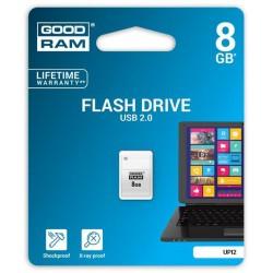 8 GB . USB kľúč . GOODDRIVE Piccolo Biela UPI2-0080W0R11