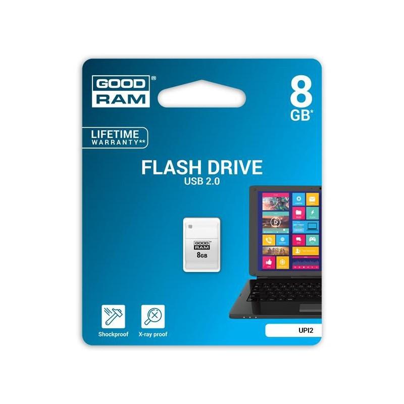 8 GB USB kľúč GOODDRIVE Piccolo Biela UPI2-0080W0R11